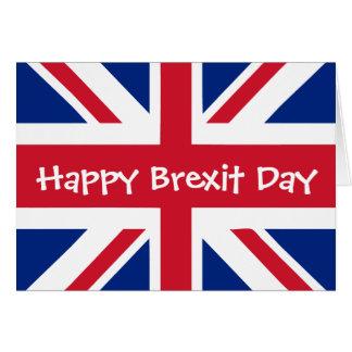 Brexit幸せな日- 3月29日 カード