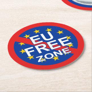 Brexit/イギリスの独立記念日 ラウンドペーパーコースター
