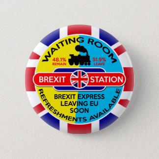 Brexit 5.7cm 丸型バッジ
