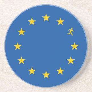 Brexit EUは印を付けます コースター