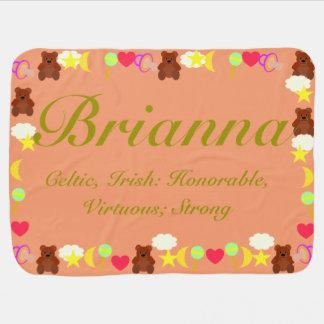 Briannaのベビーブランケットのテンプレート ベビー ブランケット