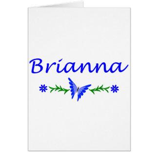 Brianna (青い蝶) カード