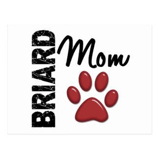 Briardのお母さん2 ポストカード