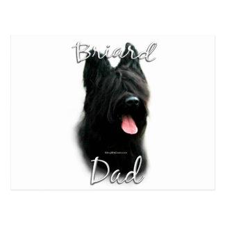 Briardのパパ2 ポストカード