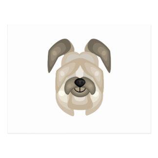 Briardの品種-私の犬のオアシス ポストカード