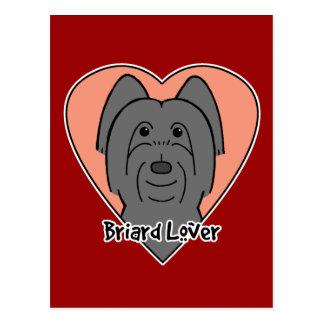 Briardの恋人 ポストカード