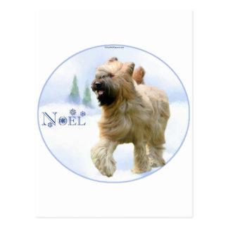 Briard Noel ポストカード
