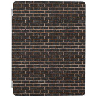 BRICK1黒い大理石及びブラウンの石 iPadスマートカバー