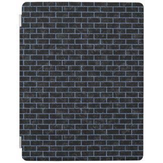 BRICK1黒い大理石及び青いデニム iPadスマートカバー