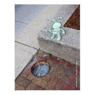 brickfishing sluggoの郵便はがき ポストカード