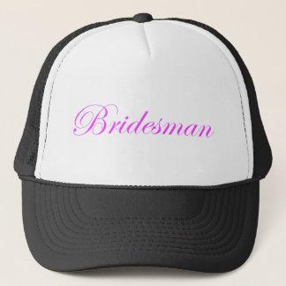 Bridesmanのトラック運転手の帽子 キャップ