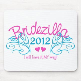 BRIDEZILLAのカスタマイズ可能な2012年のmousepad マウスパッド
