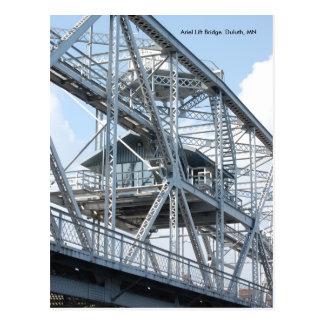 Bridge2のArielの上昇橋ダルース、MNを持ち上げて下さい ポストカード