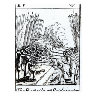 Bridgwaterの戦い、1685年7月6日 ポストカード