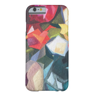 Bright floral Abstract Phone Case Barely There iPhone 6 ケース
