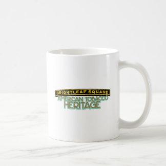 Brightleafの正方形のタバコ コーヒーマグカップ
