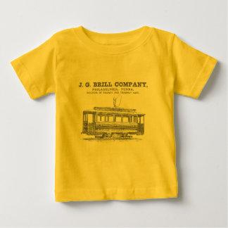 Brill Companyの市街電車および路面電車車1860年 ベビーTシャツ