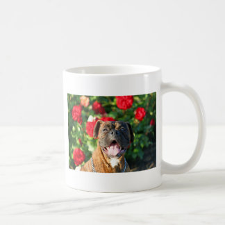 Brindleボクサー犬のマグ コーヒーマグカップ