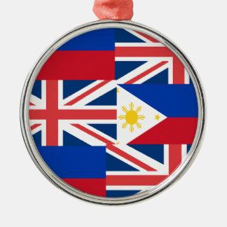 BRITISH-FILIPINO メタルオーナメント