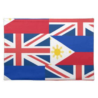 BRITISH-FILIPINO ランチョンマット