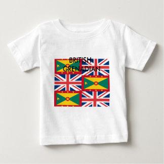 BRITISH-GRENADIAN ベビーTシャツ
