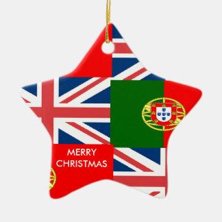 BRITISH-PORTUGUESE セラミックオーナメント