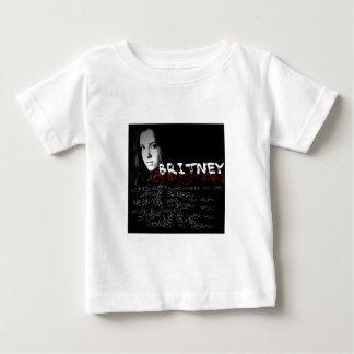 Britneyのクリスチャンの叙情詩 ベビーTシャツ
