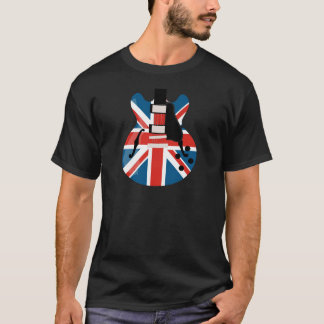 Britpopのギター Tシャツ