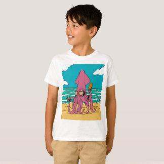 BroのイカのTシャツ3 Tシャツ