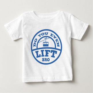 Broを持ち上げますか。 ベビーTシャツ