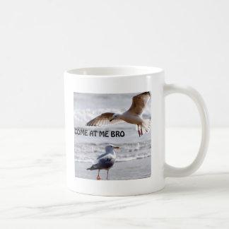 broを私で来られる! カモメ版 コーヒーマグカップ