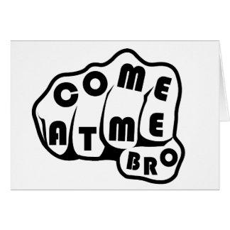 Broを私で来られる グリーティングカード