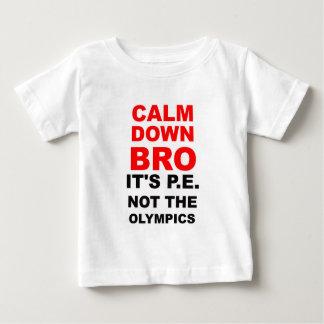 broを静めて下さい ベビーTシャツ