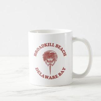 BroadkillのビーチDE. コーヒーマグカップ