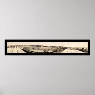 Brocktonの公平な地面の写真1927年 ポスター