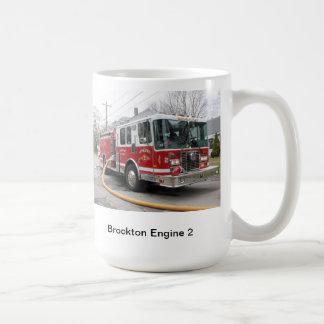 Brocktonの火のマグ コーヒーマグカップ