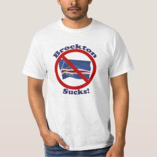 BrocktonはTシャツの人の大きい100%年の綿を吸います Tシャツ