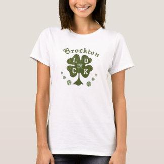 Brocktonマサチューセッツのアイルランド人のTシャツ Tシャツ