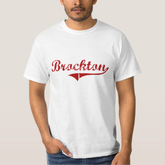 Brocktonマサチューセッツのクラシックなデザイン Tシャツ
