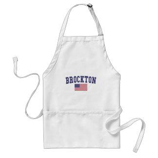 Brockton米国の旗 スタンダードエプロン