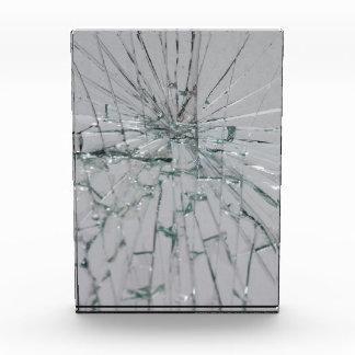 Broken Glass-Look 表彰盾