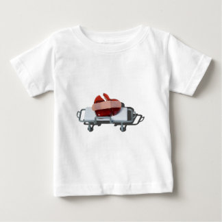 BrokenGlassHeartBandagedOnGurney092715.png ベビーTシャツ