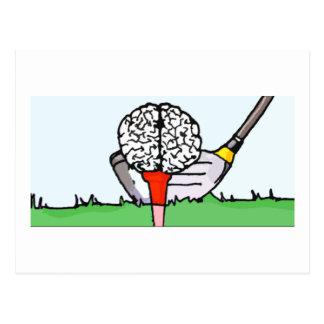 Brolf: 頭脳のゴルフ! ポストカード