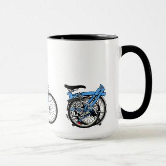 Bromptonの自転車 マグカップ