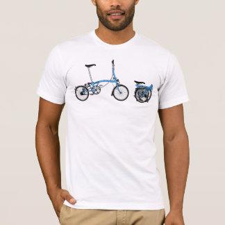 Bromptonの自転車 Tシャツ