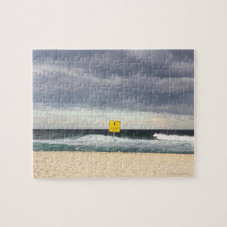 Bronteのビーチ上の嵐の空 ジグソーパズル