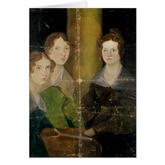 Bronteの姉妹のポートレート、c.1834 カード