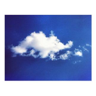Brontosaurasの雲の郵便はがき ポストカード