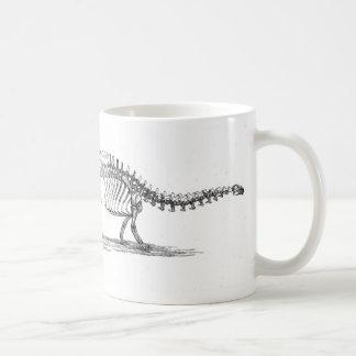 Brontosaurusの恐竜の旧式なプリント コーヒーマグカップ