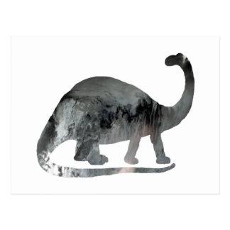 Brontosaurusの芸術 ポストカード